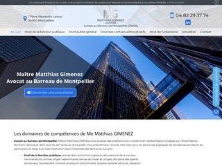 Faites appel à un avocat en droit public à Montpellier (34)