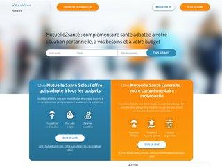 Mutuelle2sante.com : votre complémentaire de santé sur mesure en ligne