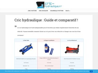Cric hydraulique – guide d'achat