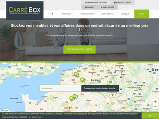 Location de garde-meuble dans les Hauts de France