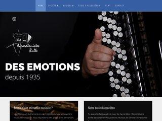 Ensemble orchestral d'accordéons, à Bulle (Suisse)