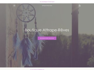 Attrape-Rêves, la boutique n°1