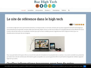 Rue high-Tech, toutes les actualités high-tech
