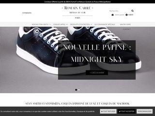 Romain Carré : Coques Apple & Adidas Stan Smith Customisées