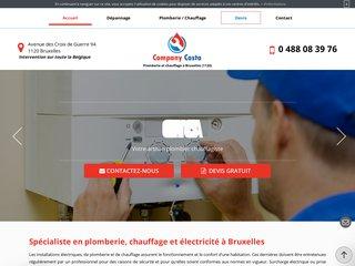 Plombier chauffagiste à Bruxelles, Company Costa
