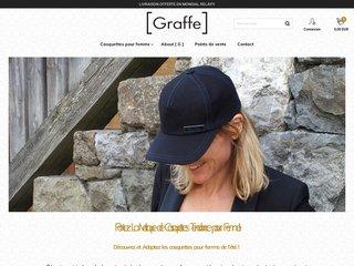 [Graffe] : Conception de Casquettes Tendance pour Femme