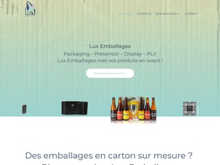 Lux Emballages : PLV carton
