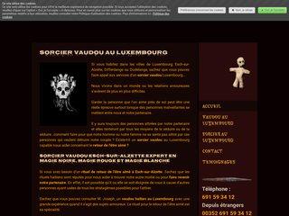 Sorcier vaudou au Luxembourg