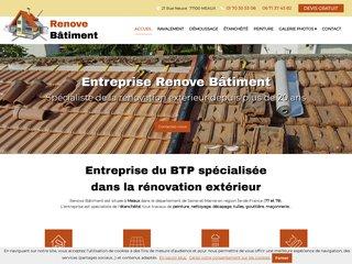 RENOVE BATIMENT, rénovation extérieure à Meaux et en Île-de-France