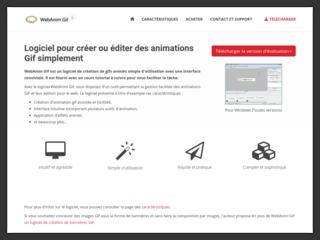 WebAnim Gif, logiciel de création d'animation GIF