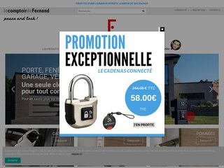 Le Comptoir de Fernand, serrurerie en ligne