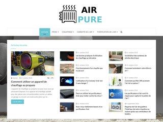 Air Pure: Votre site partenaire pour purifier l'air de votre domicile