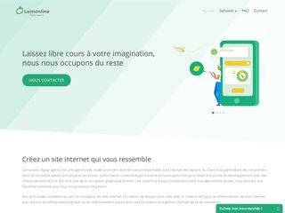 Lemonline - Agence Web à Verviers et Liège