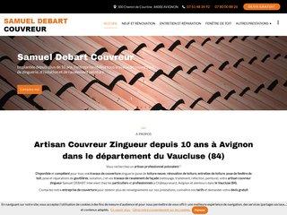 Samuel DEBART Couvreur à Avignon (84)