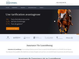 Assurance vie luxembourgeoise