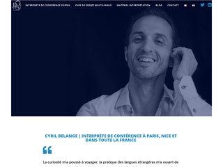 Interprète de conférence français anglais à Paris