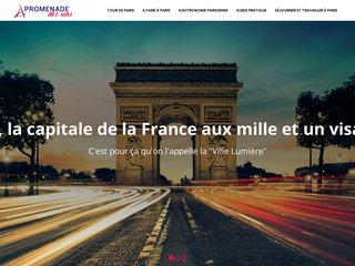 Visite numérique guidée à Paris