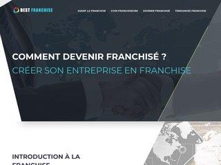 Infos sur la création d'une entreprise en franchise