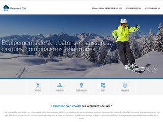Vêtement Ski