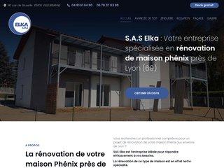 Elka, entreprise d'isolation par l'extérieur et ravalement de façades