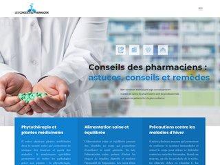 Les conseils du pharmacien