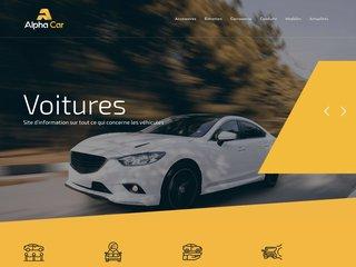 Site d'informations sur les voitures
