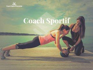 Informations sur le coaching sportif à domicile