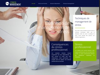 Informations sur le management du stress