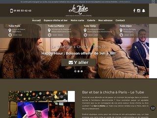 Votre bar club à narguilé à Paris 19 - Le Tube