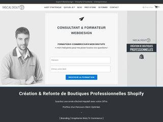 Prestation WebDesign sur Shopify