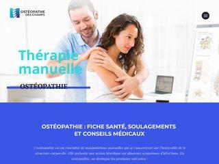 Meilleures informations sur l'ostéopathie