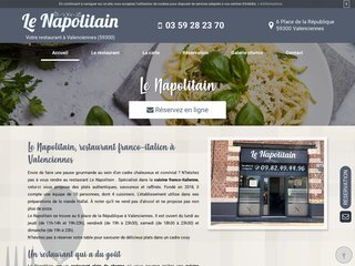 Le restaurant italien à Valenciennes