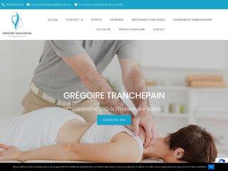 ostéopathe enfants Thonon-les-Bains