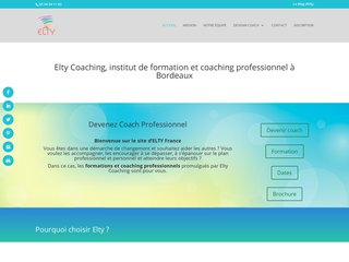 Formation PNL Bordeaux - Elty Coaching France