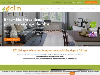 Climaticien : ECLIM à Pertuis (84)