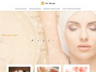 L'univers du massage à Nice