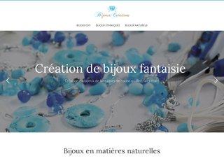 Création de bijoux fantaisie élégants, luxes et chics