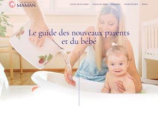 Le Monde de maman, guide dédié aux mamans pour bien prendre soin de leurs bébés