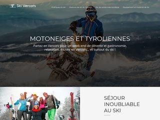Ski et activités nordiques en Massif du Vercors