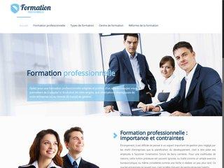 Informations sur les formations professionnelles