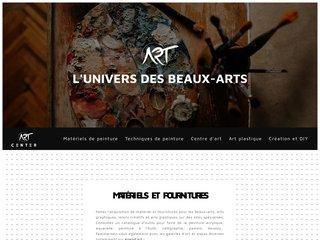 Univers des beaux-arts et de la peinture