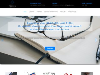 Cabinet d'avocats Berrada