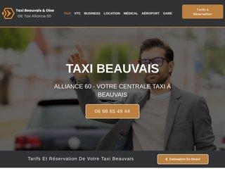 Centrale de réservation de Taxi à Beauvais