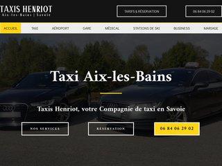 Taxi Aix-les-Bains Savoie avec Taxis Henriot