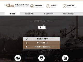 Taxi Créteil - votre chauffeur privé personnel 24h/7j