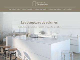 Les comptoirs de cuisine