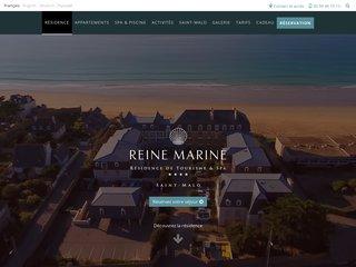 Reine Marine : Résidence de Tourisme et Spa à Saint-Malo