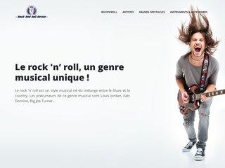 la musique et le rythme du rock & roll