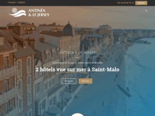 Hôtel Saint-Malo vue mer : Antinéa & Le Jersey