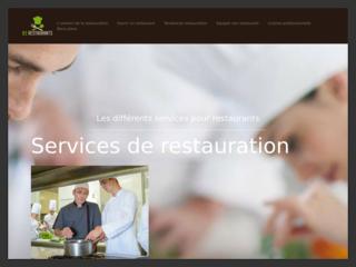 Les services pour restaurants